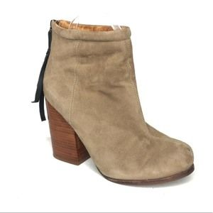 Jeffrey Campbell Rumble suede heeled ankle boots